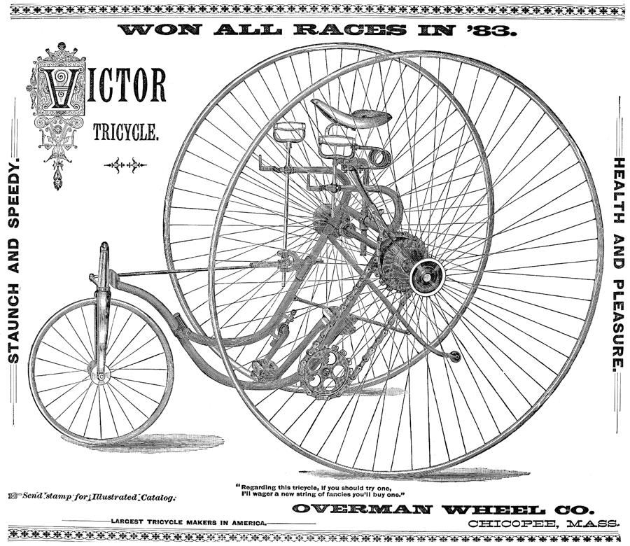 Bicycle, 1884 Photograph