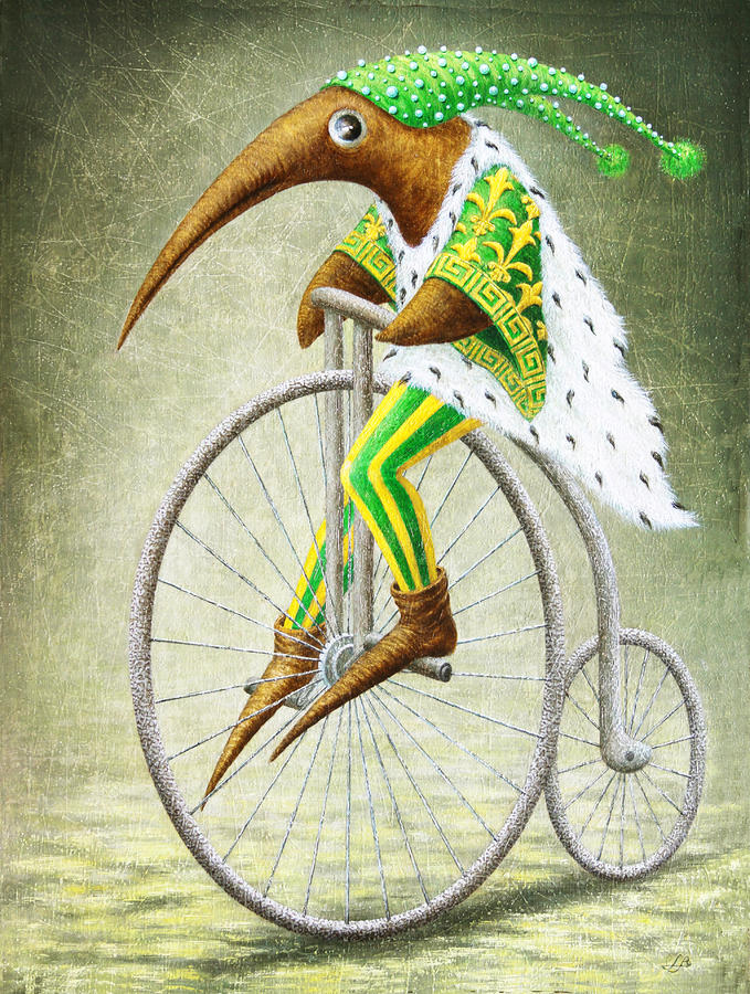 Bicycle Painting  - Bicycle Fine Art Print
