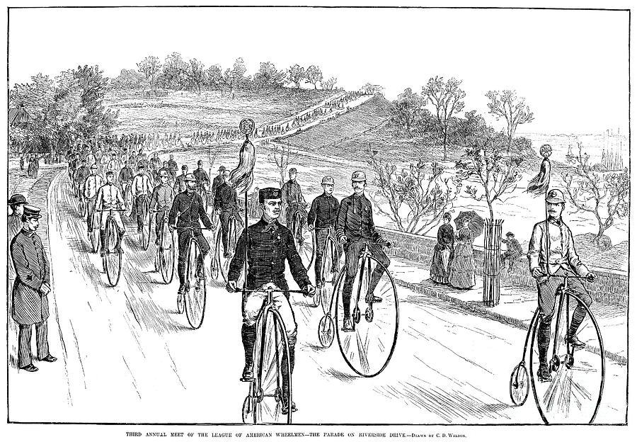 Bicycle Meet, 1883 Photograph