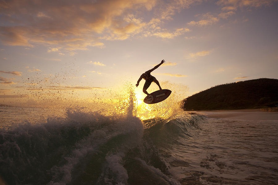Big Air - Swimboarder Photograph