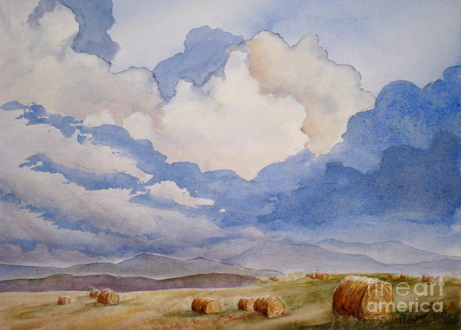 Big Alberta Sky Painting