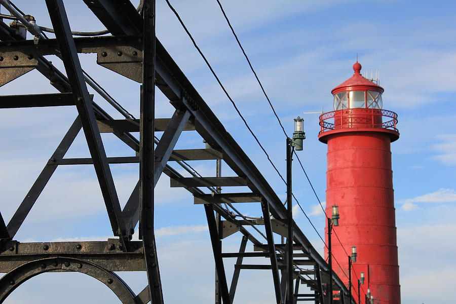 Lighthouse Photograph - Big And Strong by Sheryl Burns