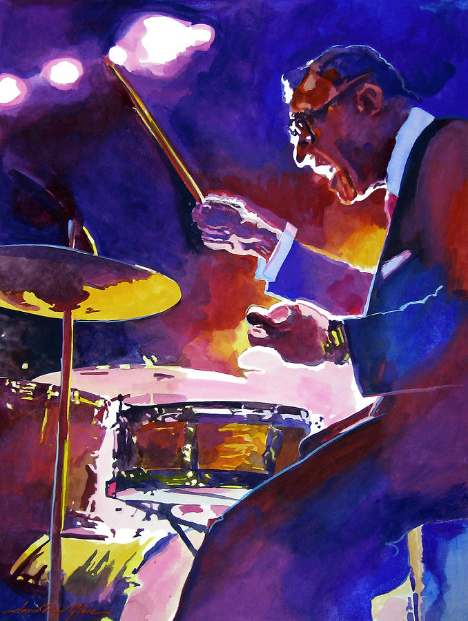 Big Band Ray Painting  - Big Band Ray Fine Art Print