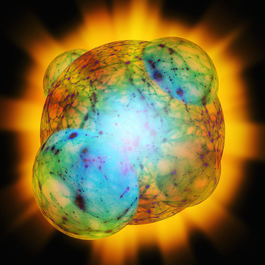 Big Bang Inflation Photograph