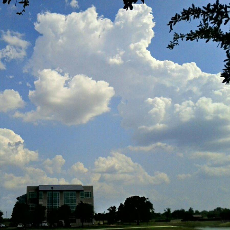 Andrography Photograph - Big Bang What? #creation #clouds #sky by Kel Hill