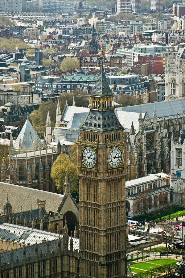 Big Ben Up Close Photograph  - Big Ben Up Close Fine Art Print