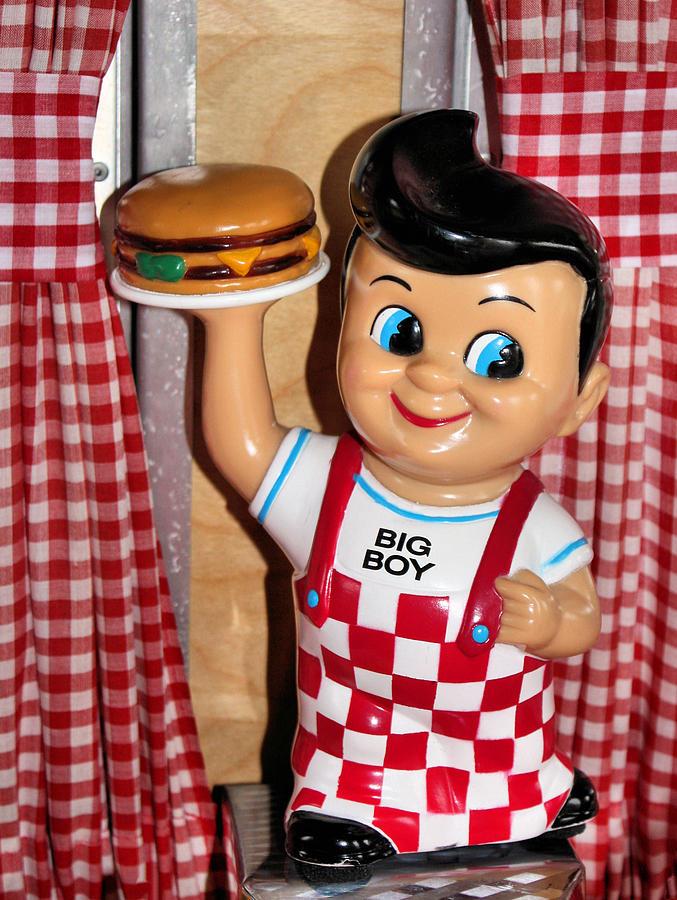 Toy Photograph - Big Boy by Kristin Elmquist