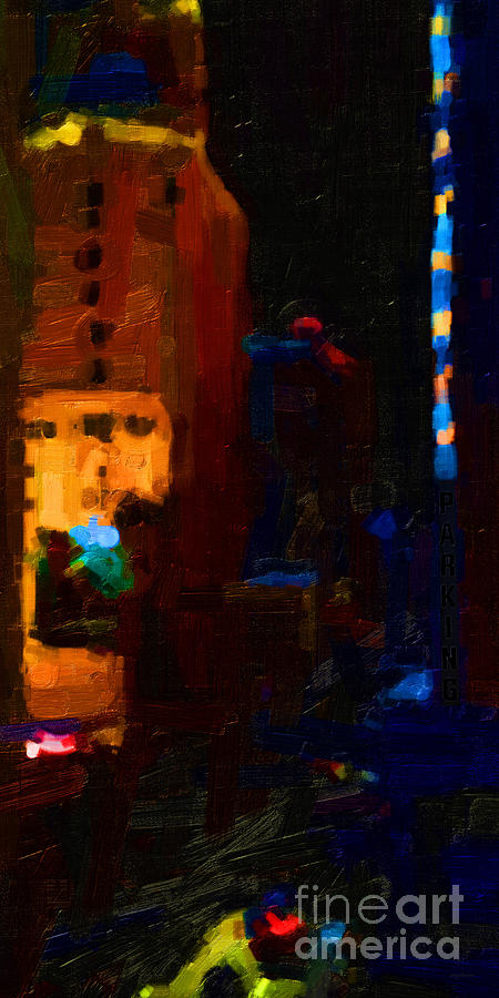 Big City Abstract Photograph  - Big City Abstract Fine Art Print