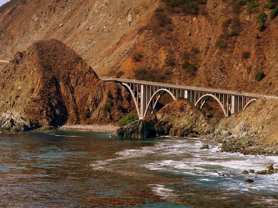 Big Creek Bridge Close Photograph