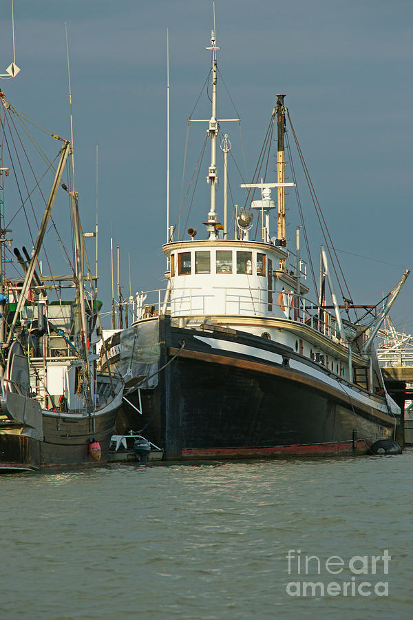 Big fishing boat photograph by randy harris for Large fishing boats