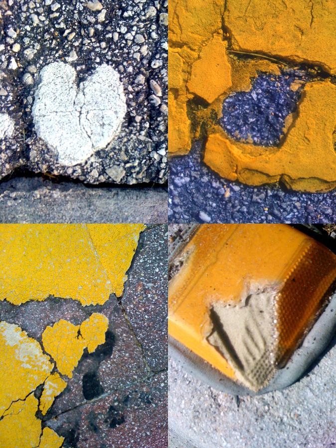 Big Hearts Yellow Photograph