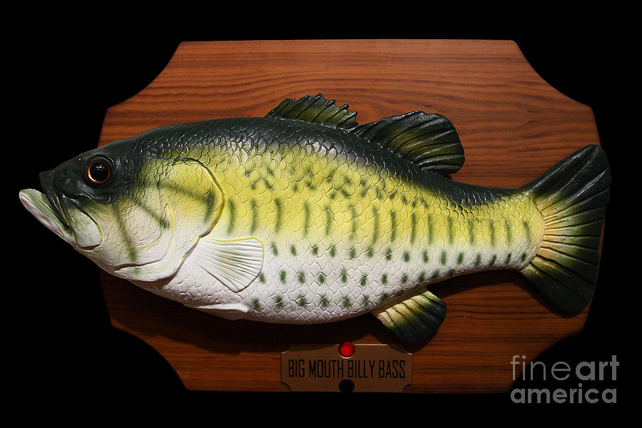Big mouth billy bass 7d13533 photograph by wingsdomain for Billy bass fish