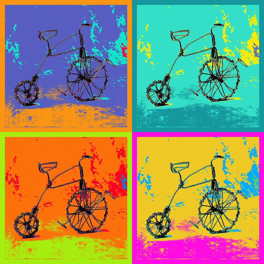 Bike 1b Pyrography