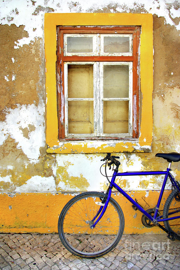 Bike Window Photograph  - Bike Window Fine Art Print