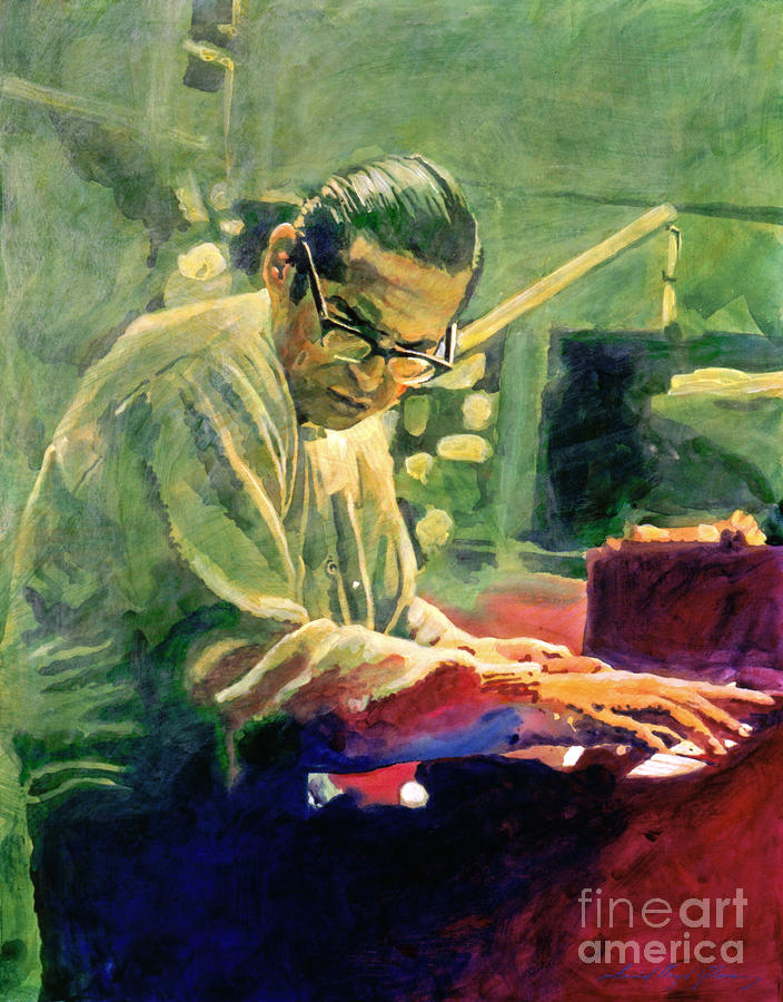 Bill Evans Quintessence Painting  - Bill Evans Quintessence Fine Art Print