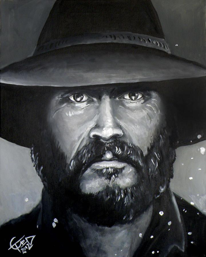 Bill Paxton - Mccoy Painting  - Bill Paxton - Mccoy Fine Art Print