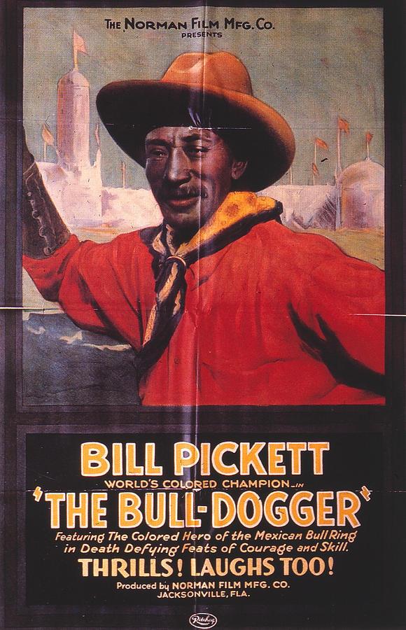 Bill Pickett (1870-1932) Photograph