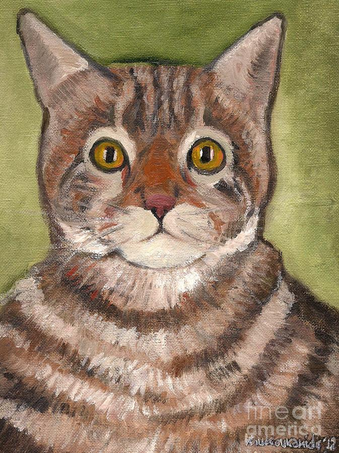 Cat Painting - Bill The Cat  by Kostas Koutsoukanidis
