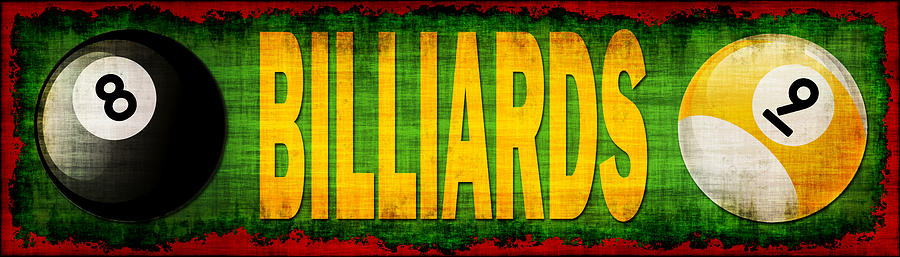 Billiards Photograph  - Billiards Fine Art Print