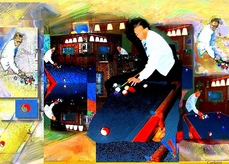 Billiards Digital Art