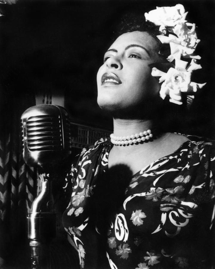 Billie Holiday Photograph