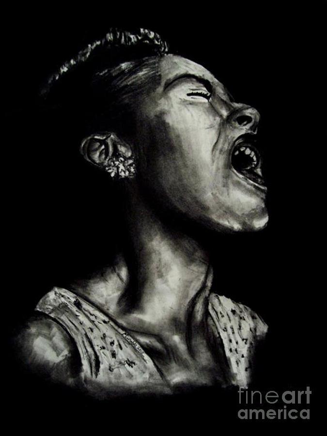 Billie Holiday Drawing