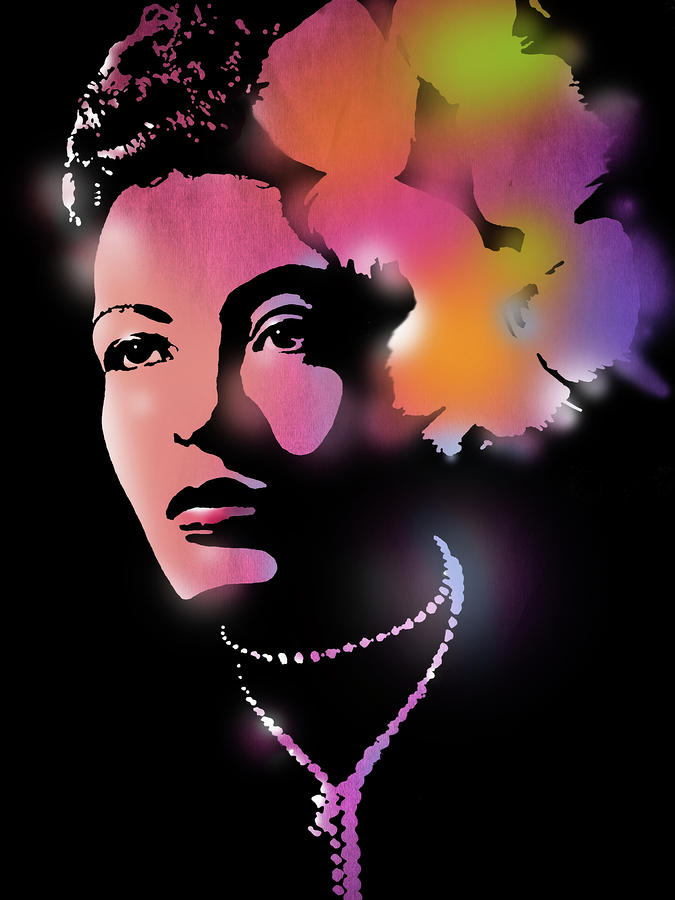 Billie Holiday Painting