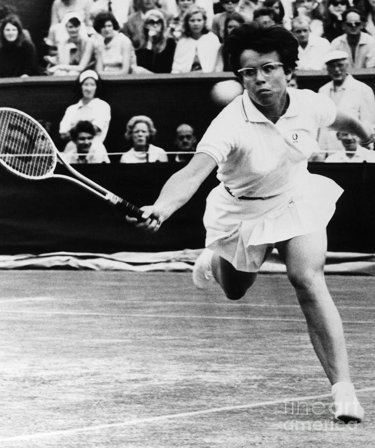 Billie Jean King (1943- ) Photograph  - Billie Jean King (1943- ) Fine Art Print