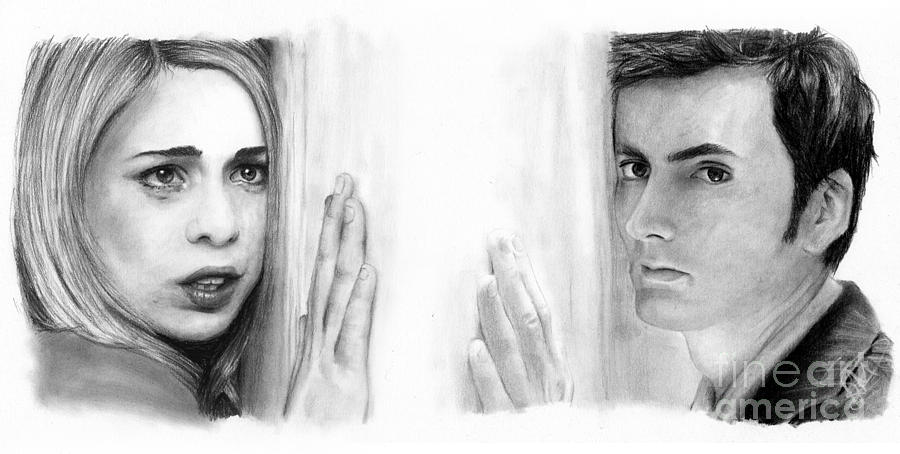 Billie Piper And David Tennant Drawing