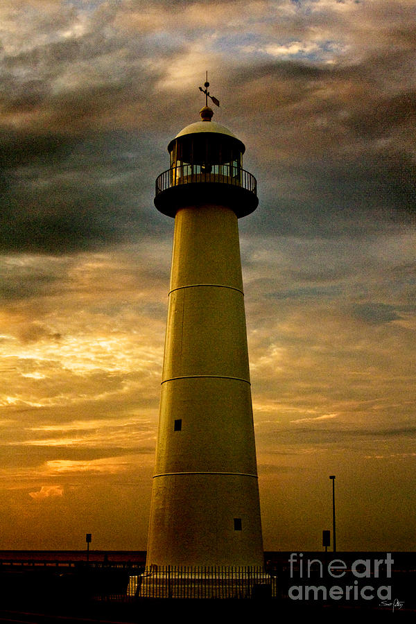 Biloxi Lighthouse Photograph