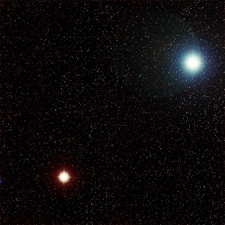 how to see a binary star system