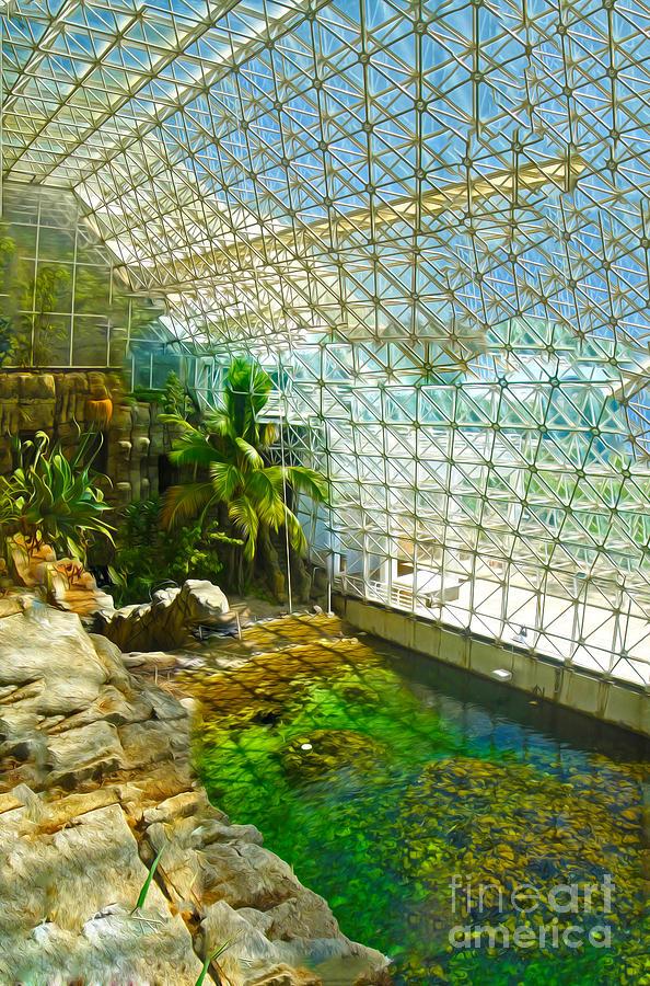 Biosphere2 - Environment 2 Painting
