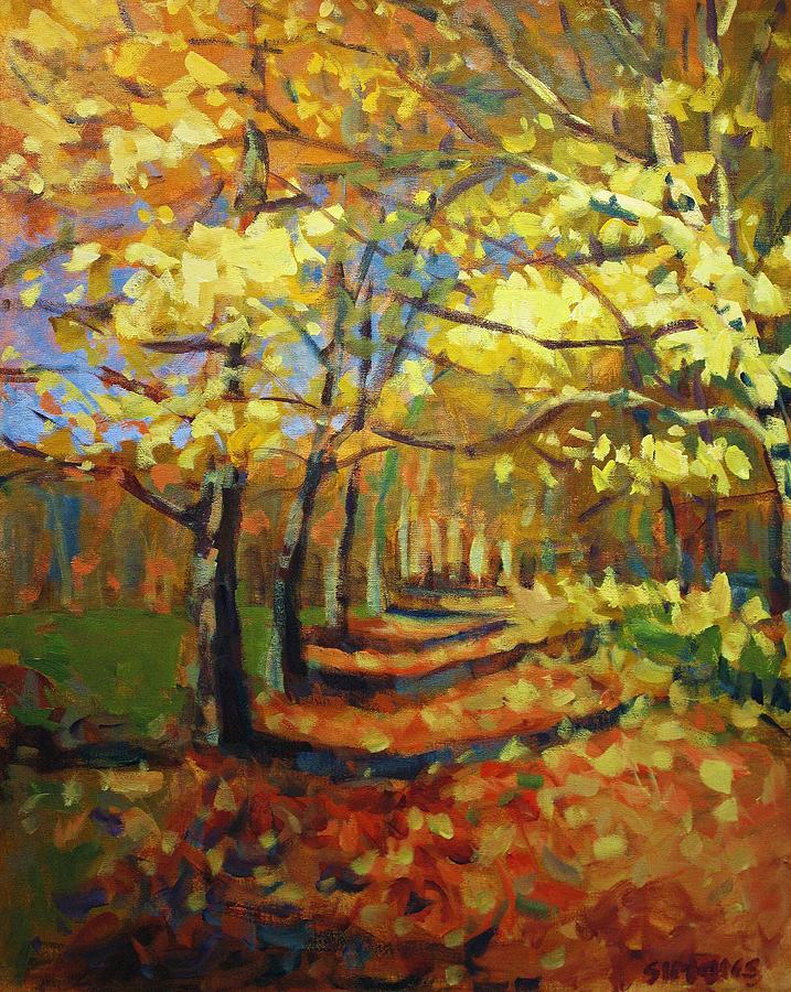 Birch2 Painting