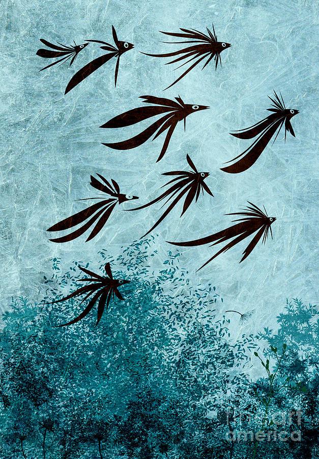 Birdeeze -v03 Digital Art
