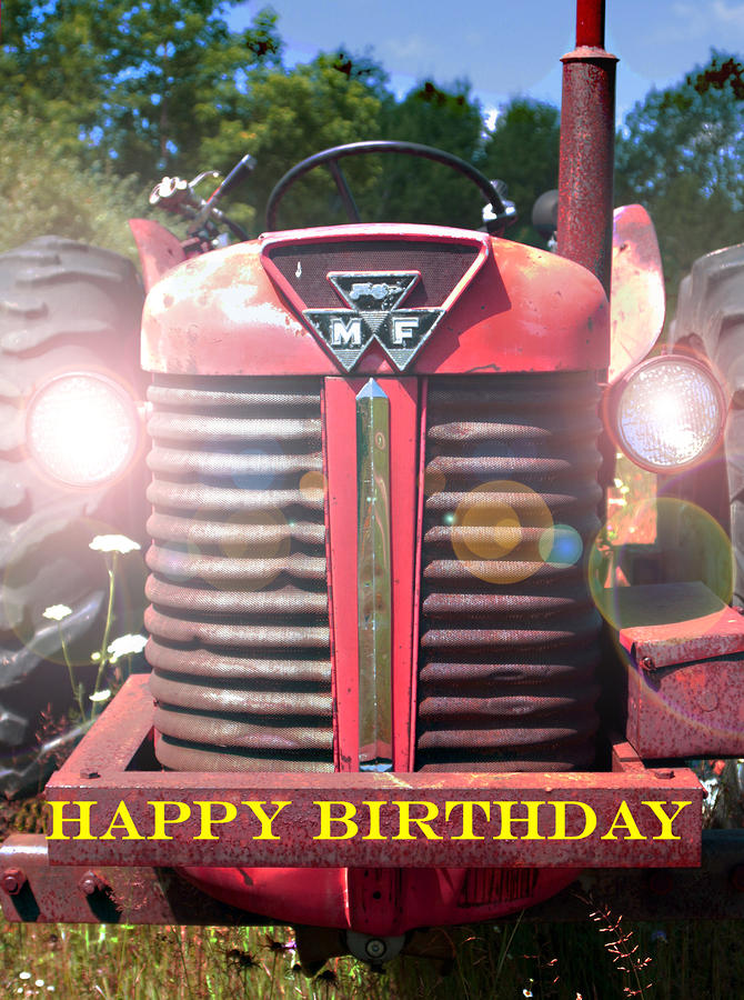 Birthday Card -- Big M-f Photograph  - Birthday Card -- Big M-f Fine Art Print