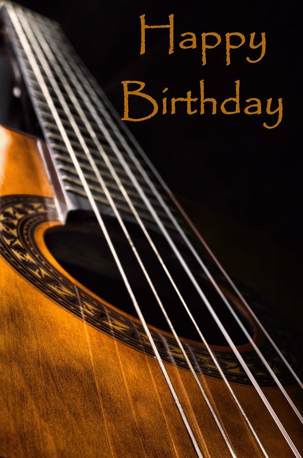 Happy Birthday David Guitar Cake