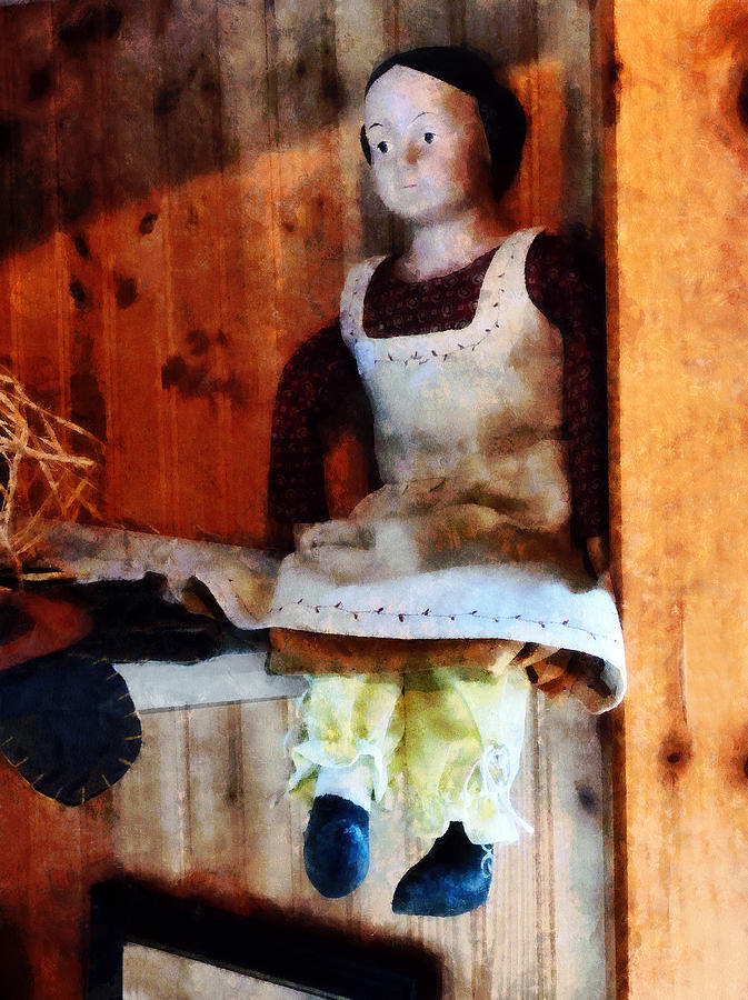 Bisque Doll Photograph