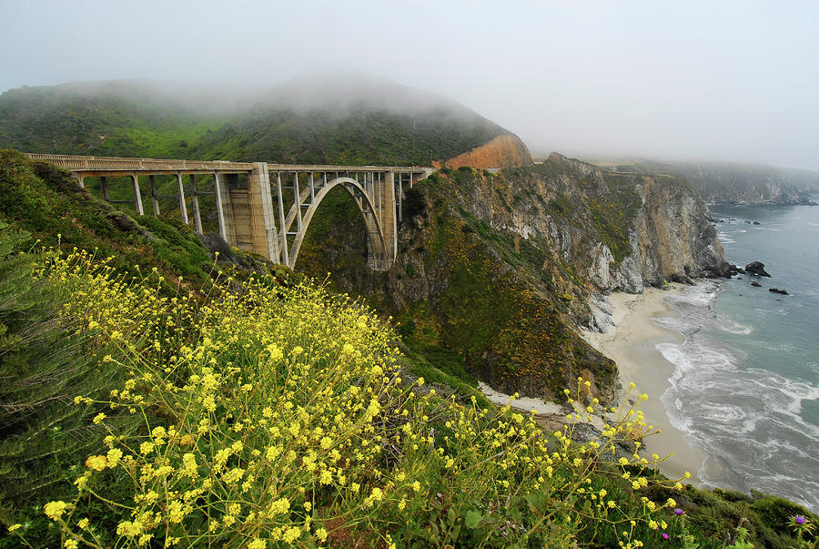 Bixby Bridge Photograph  - Bixby Bridge Fine Art Print