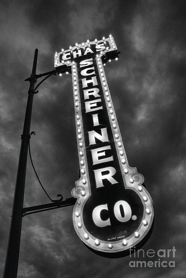Kerrville Texas Photograph - Black And Light by Ken Williams