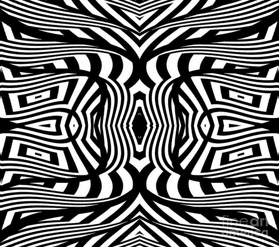 black and white abstract art digital art by drinka mercep. Black Bedroom Furniture Sets. Home Design Ideas
