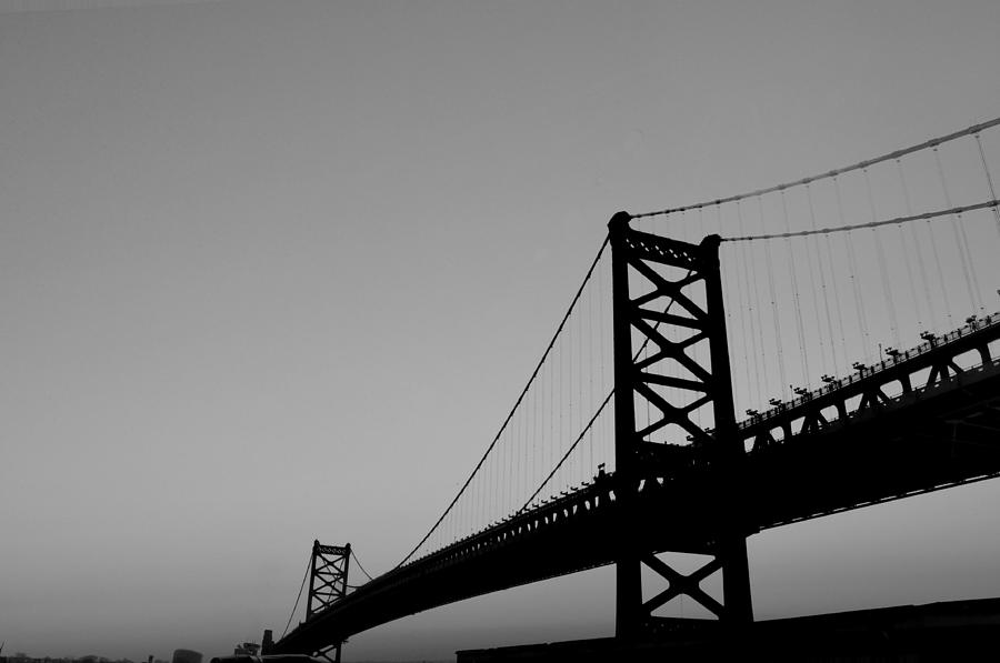 Black And White Bridge Photograph