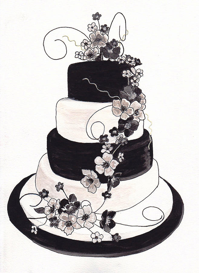 Pin Fairy Abstract Bird Flowers Silhouette Cake On Pinterest
