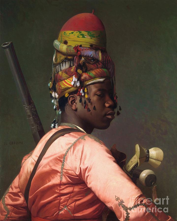 Black Bashi - Bazouk Painting