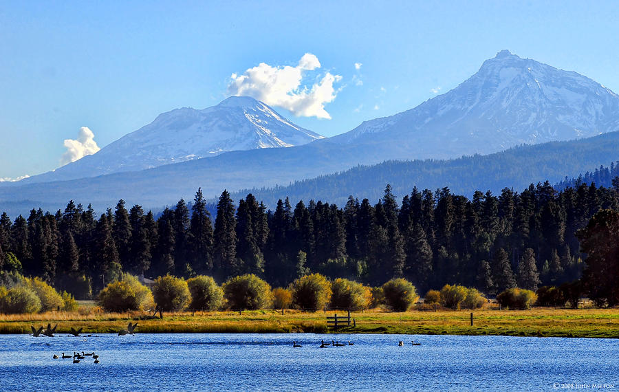 Black Butte Ranch Lake Photograph