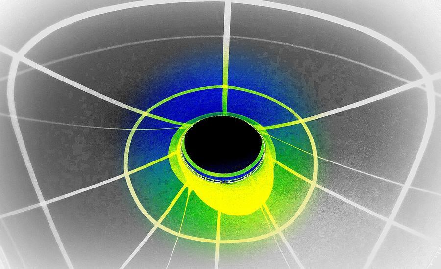 Black Hole With Aura Photograph