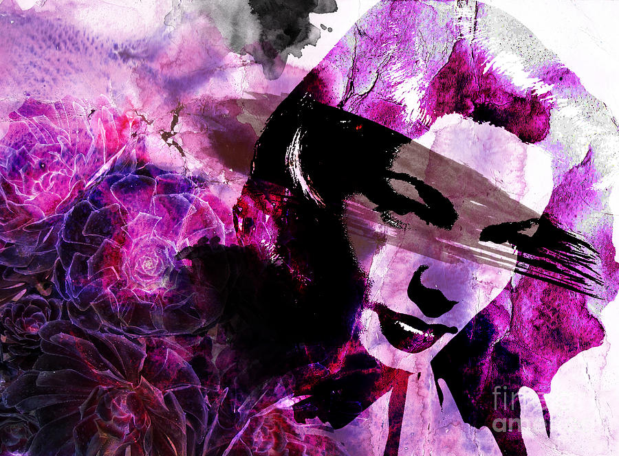 Black Magic Women Digital Art  - Black Magic Women Fine Art Print