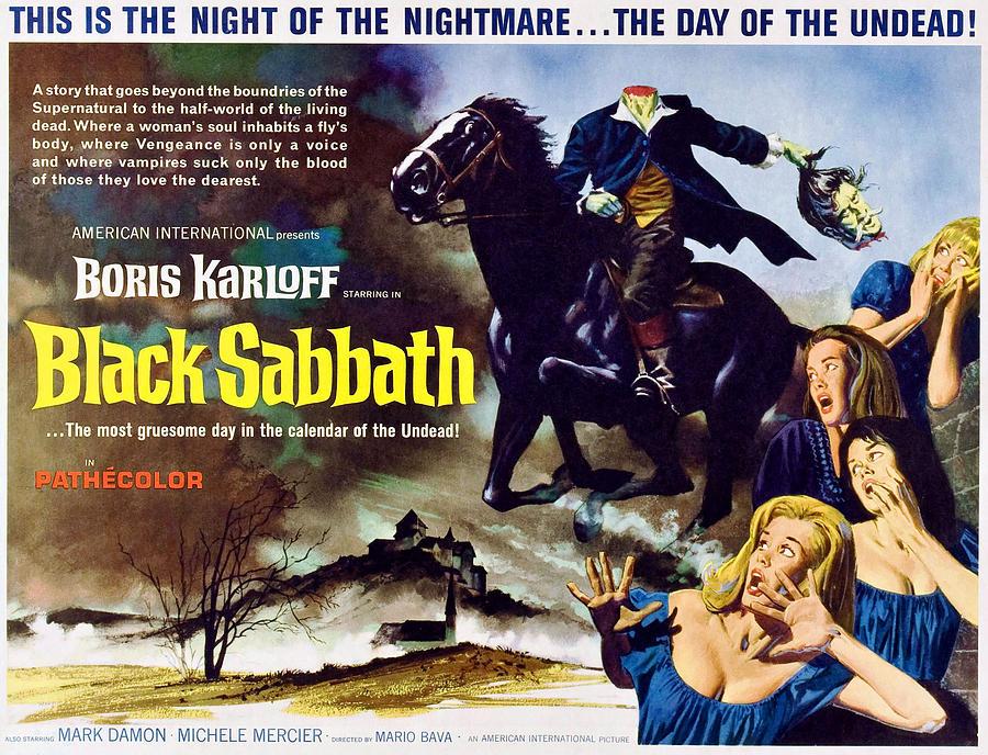 Black Sabbath, Aka I Tre Volti Della Photograph