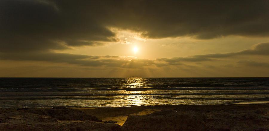 Black Sunset Photograph