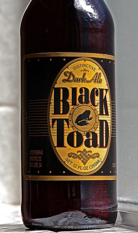 Black Toad Dark Ale Photograph  - Black Toad Dark Ale Fine Art Print