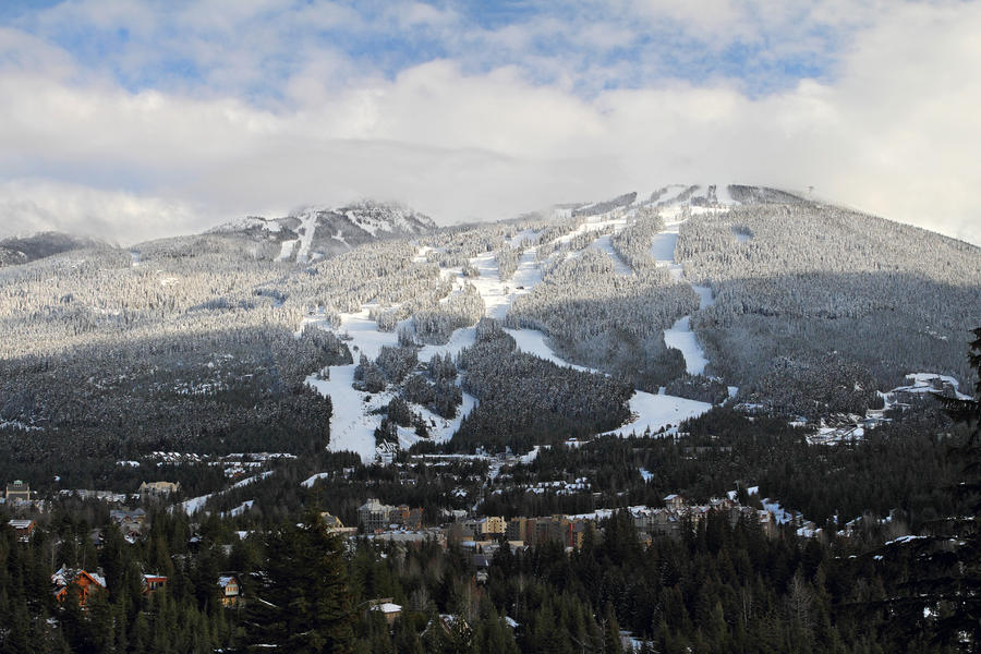 Blackcomb Mountain Photograph
